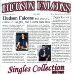 Hudson Falcons - Singles collection 1997-2002